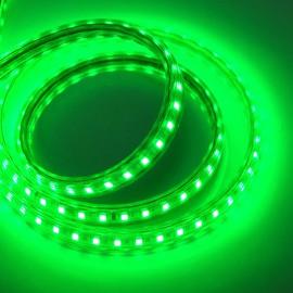 Светодиодная лента 220V 3528 120led/m 5W IP65 зеленая TM POWERLUX