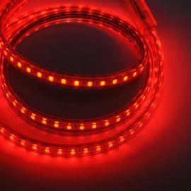 Светодиодная лента 220V 3528 120led/m 5W IP65 красная TM POWERLUX
