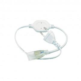 Кабель питания для светодиодной ленты 5mm+коннектор 2pin 220V 120-3014