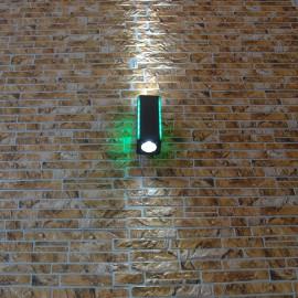 Светильник фасадный светодиодный PWL 2*5W 6500K IP65-FACADE-210H3D