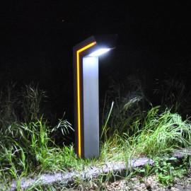 Уличный светодиодный садовый столбик PWL 10W 6500K IP65-GARDEN-022B1