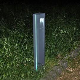 Уличный светодиодный садовый столбик PWL 2*3W 6500K IP65-GARDEN-028C1