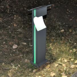 Уличный светодиодный садовый столбик PWL 3W 6500К IP65 GREENSUN -PW809A