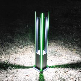 Уличный светодиодный садовый столбик PWL 5W 6500К IP65 -GARDEN-PW030G1