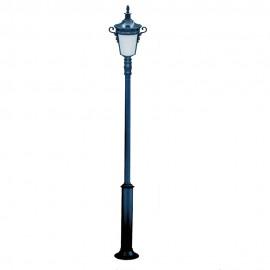 Cадово-парковый светильник PWL 1xE27 IP65-GREEN SQUARE-7019