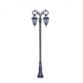 Cадово-парковый светильник PWL 2xE27 IP65-GREEN SQUARE-8001