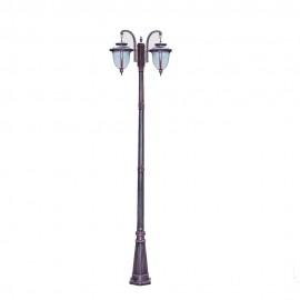 Cадово-парковый светильник PWL 2xE27 IP65-GREEN SQUARE-8003