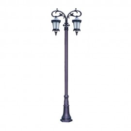 Cадово-парковый светильник PWL 2xE27 IP65-GREEN SQUARE-8008