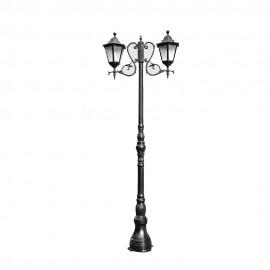 Cадово-парковый светильник PWL 2xE27 IP65-GREEN SQUARE-8020