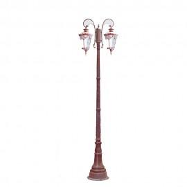 Cадово-парковый светильник PWL 2xE27 IP65-GREEN SQUARE-8030