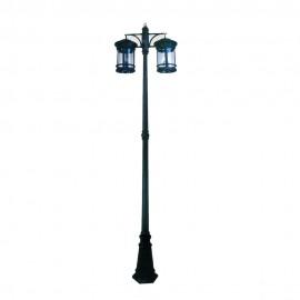 Cадово-парковый светильник PWL 2xE27 IP65-GREEN SQUARE-8039