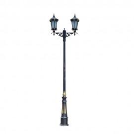 Cадово-парковый светильник PWL 2xE27 IP65-GREEN SQUARE-8049