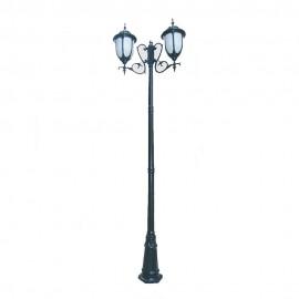 Cадово-парковый светильник PWL 2xE27 IP65-GREEN SQUARE-8050