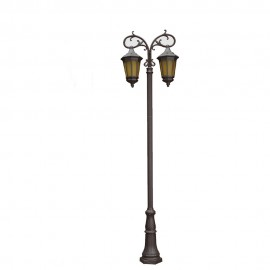 Cадово-парковый светильник PWL 2xE27 IP65-GREEN SQUARE-8064