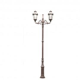 Cадово-парковый светильник PWL 2xE27 IP65-GREEN SQUARE-8074