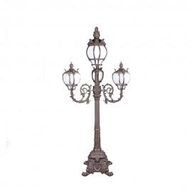 Cадово-парковый светильник PWL 3xE27 IP65-GREEN SQUARE-8078