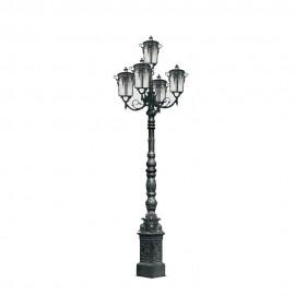 Cадово-парковый светильник PWL 5xE27 IP65-GREEN SQUARE-8089