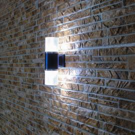 Светильник фасадный светодиодный PWL 2*7W 6500K IP65-FACADE-W102X1D