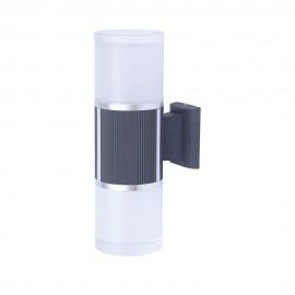 Светильник фасадный светодиодный PWL 2*9W 6500K IP65-FACADE-W103Y1D