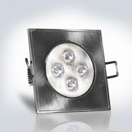 Светильник LED OPTONICALED  4W 2700К  квадрат 85*85 мм встраиваемый  IP21