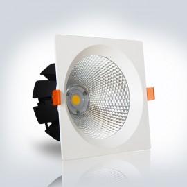 Светильник LED OPTONICALED 30W 4500К квадрат 195*195 мм встраиваемый  IP20