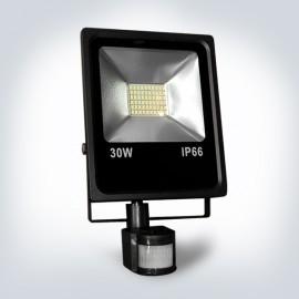 Прожектор светодиодный OPTONICALED 30W 6500К IP66 sensor