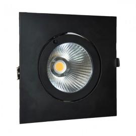 Светильник LED 30W 4000K IP20  чорный VELA