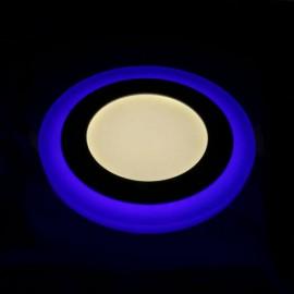 Светильник светодиодный AL2662 6W 480Lm 4000K 145mm с синей подсветкой Feron