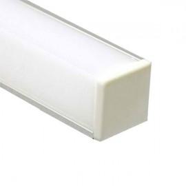 Профиль FERON накладной САВ281 квадратный угловой