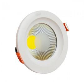 Светильник светодиодный 20W 4000K СОВ круг стекло TM LIPER