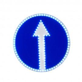 Светодиодный дорожный знак PWL 24W Движение прямо