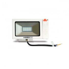 Прожектор светодиодный VIDEX 10W 5000K 220V Slim Sensor