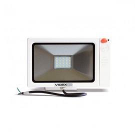 Прожектор светодиодный VIDEX LED 20W 5000K 220V Slim Sensor