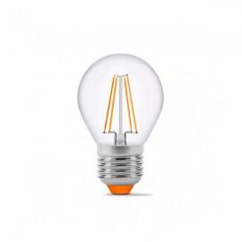 Лампа светодиодная VIDEX Filament G45F 4W E27 3000K 220V