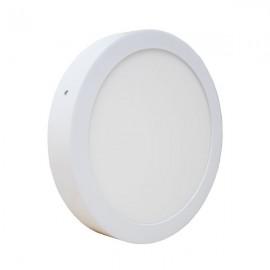 Светодиодный светильник накладной POWERLUX 12W 3000K круг