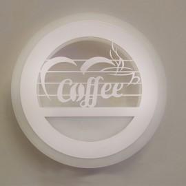 Настенный светильник светодиодный Лаго 24W белый Powerlight
