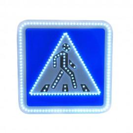Светодиодный дорожный знак PWL 24W Пешеходный переход