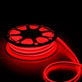Светодиодный гибкий неон 12V 120SMD/м 10W IP68 красный