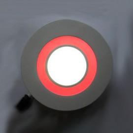 Светильник светодиодный AL2550 16W 1280Lm 5000K 180mm круг с красной подсветкой Feron