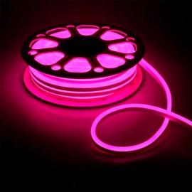 Led неон 12V 120SMD/м 10W IP68 розовый