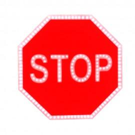 Светодиодный дорожный знак PWL 24W Проезд без остановки запрещен
