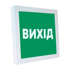 "Светодиодный светильник накладной POWERLUX 12W 4500K квадрат  ""Вихід"""