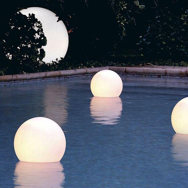 освещение шарами
