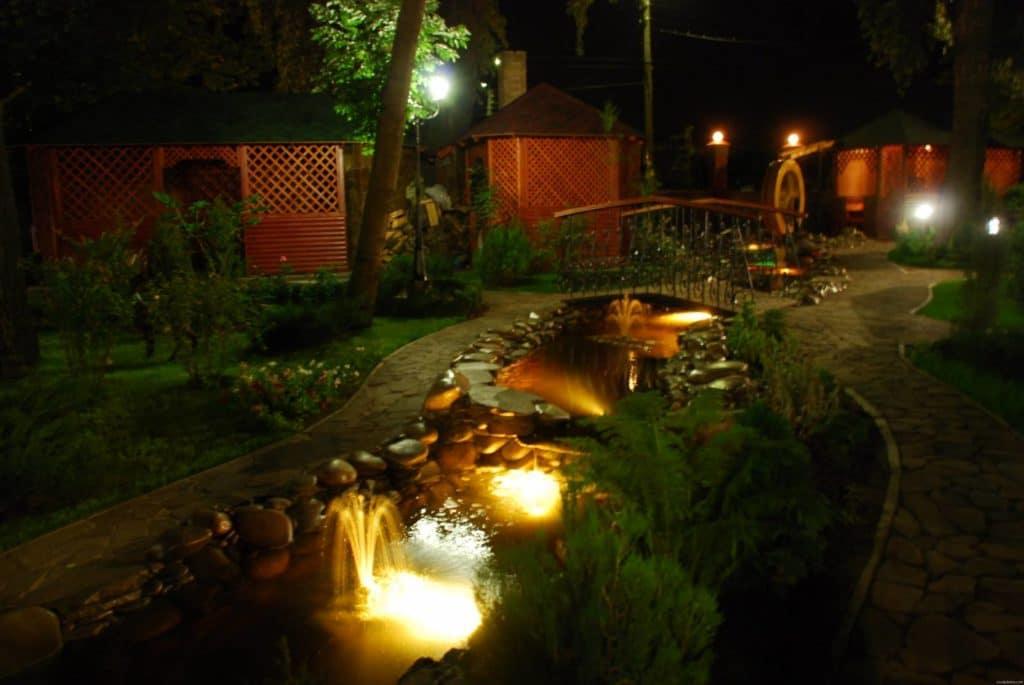 освещение в воде