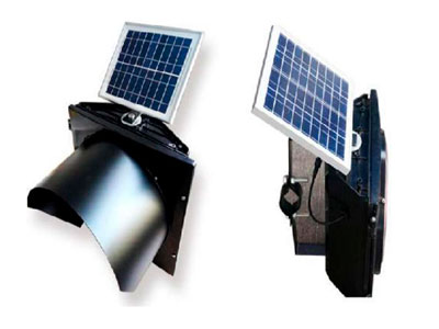 светофор с солнечной панелью